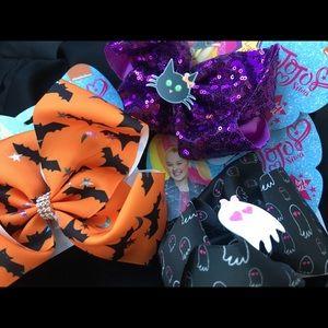 3 JOJO SIWA Bows - New - light-up - Halloween